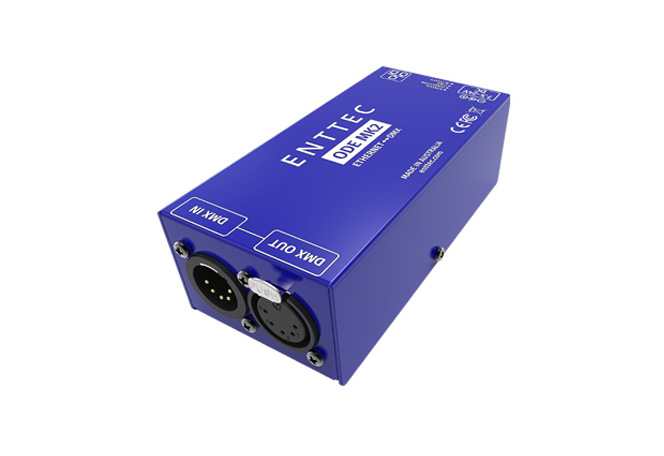 ethernet to DMX interface