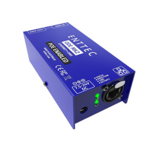 Power over Ethernet DMX interface