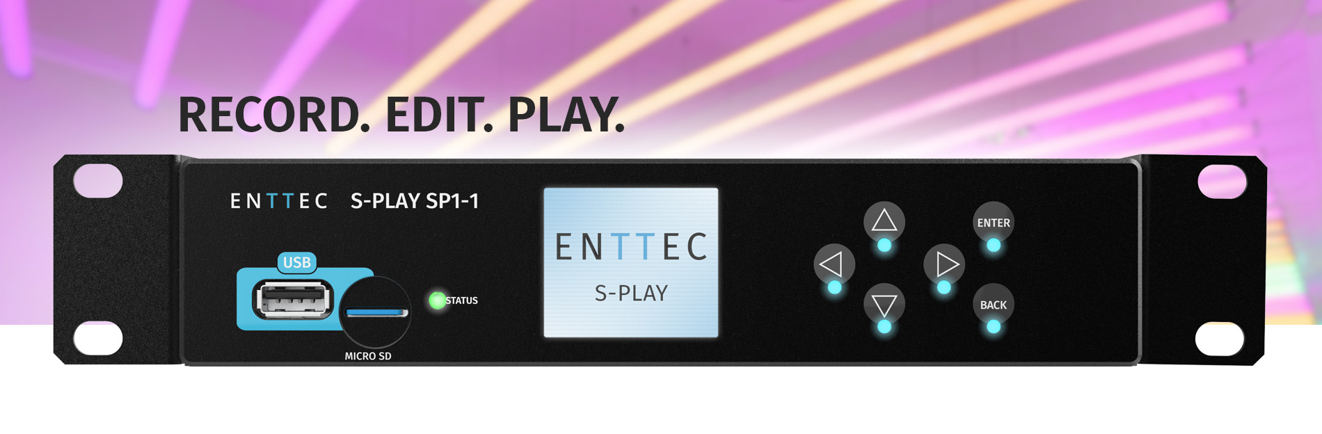 Exciting new features to S-play firmware