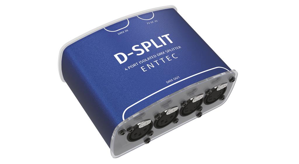 DMX Opto splitter