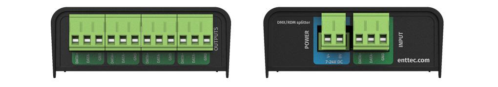 DMX RDM splitter